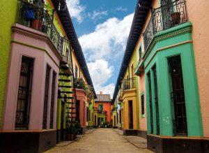 Los Martires neighborhood in Bogota, Colombia