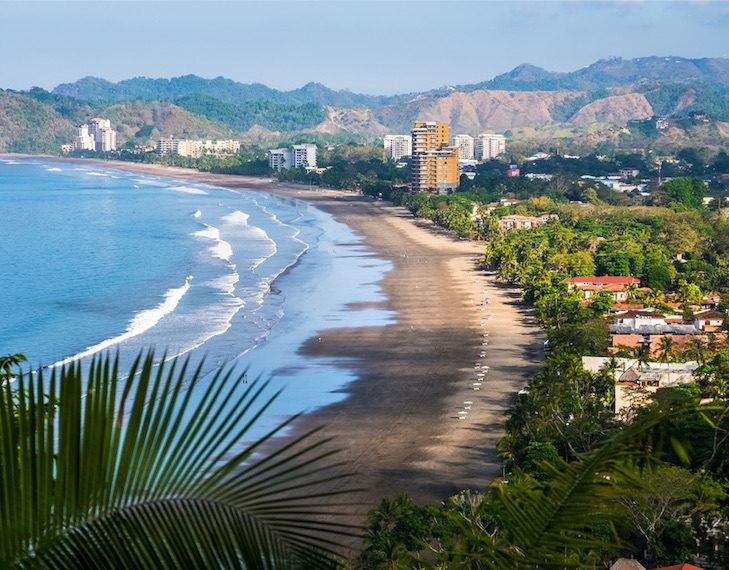jaco costa rica reopening