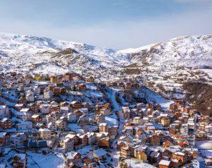 Mountain village of Restelica