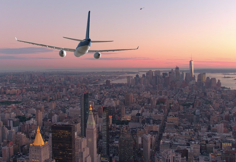 nyc airplane