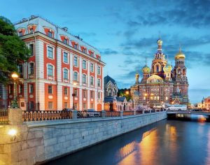 St. Petersburg - Church of the Saviour on Spilled Blood