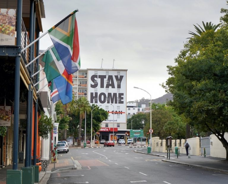 lock downs in south africa