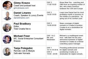 Dubrovnik for Digital Nomads speakers