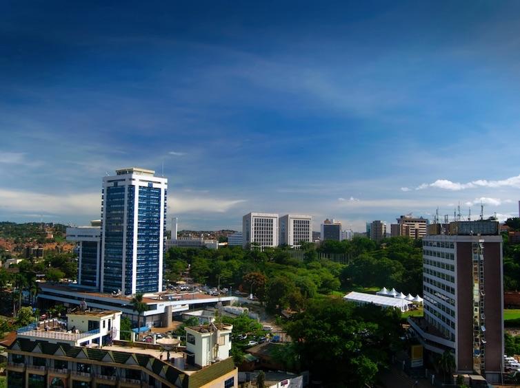 Kampala downtown, Uganda