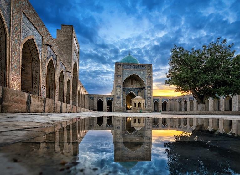 Kalyan in Bukhara Uzbekistan