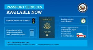 passport servces now available USA