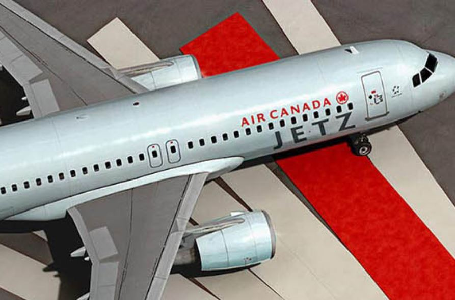 Air Canada Jetz Courtey of Air Canada