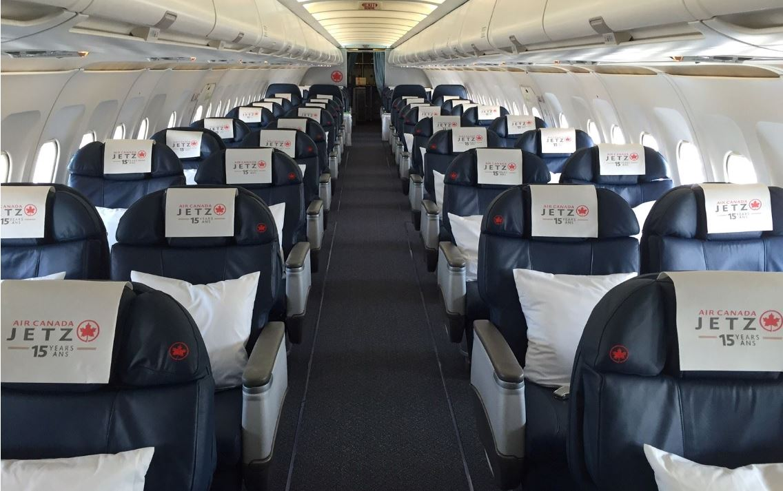Air Canada To Fly All Business Class Planes To Cancun