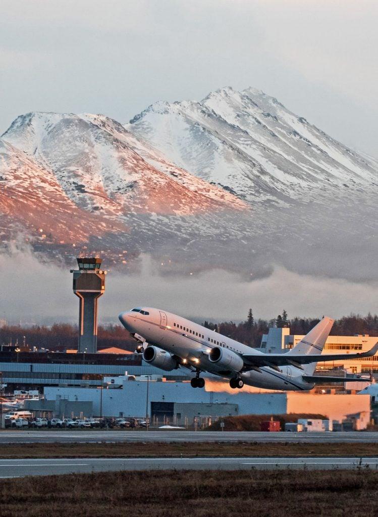 Alaska Anchorage Airport