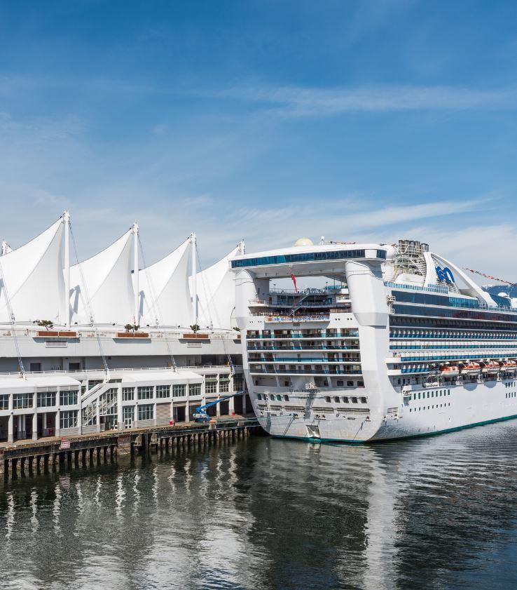Canada cruise port