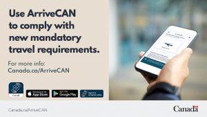ArriveCan app