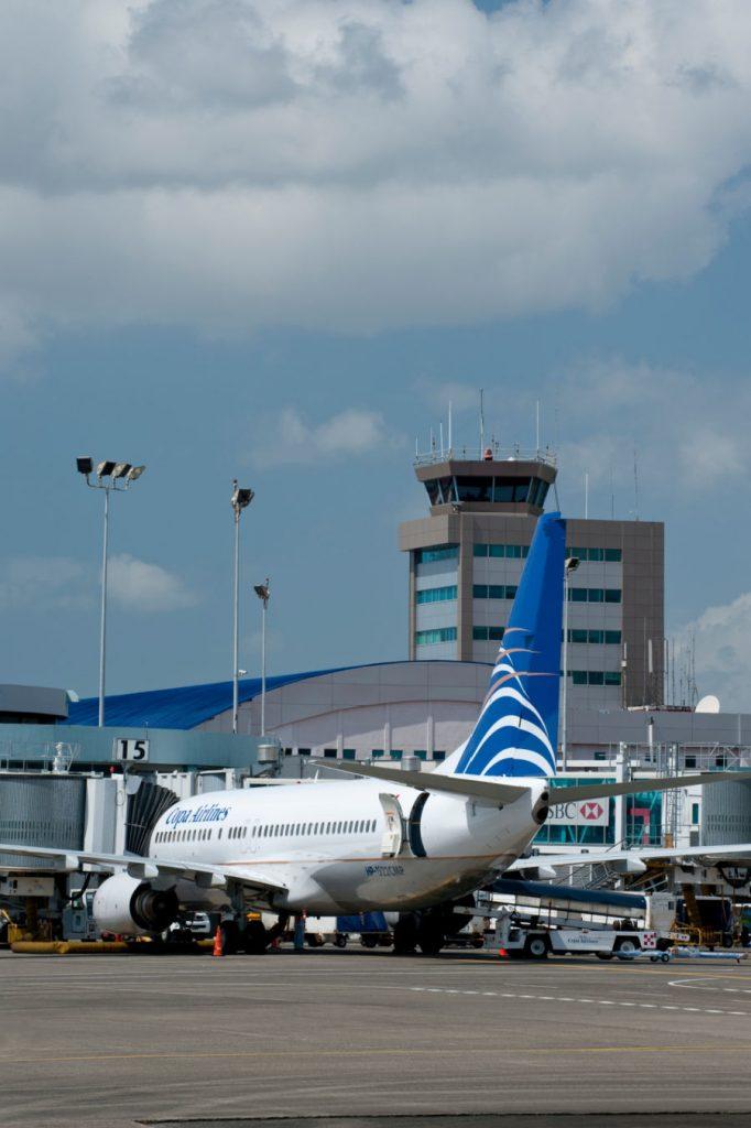 Panama International Airport, Tower and new Terminal, Panama, Central America
