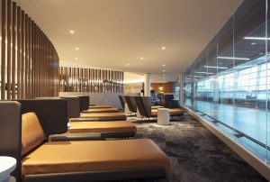 lounge seating at YYC elevate lounge