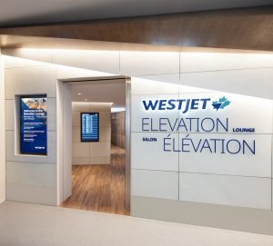 WestJet's new Elevate lounge in Calgary