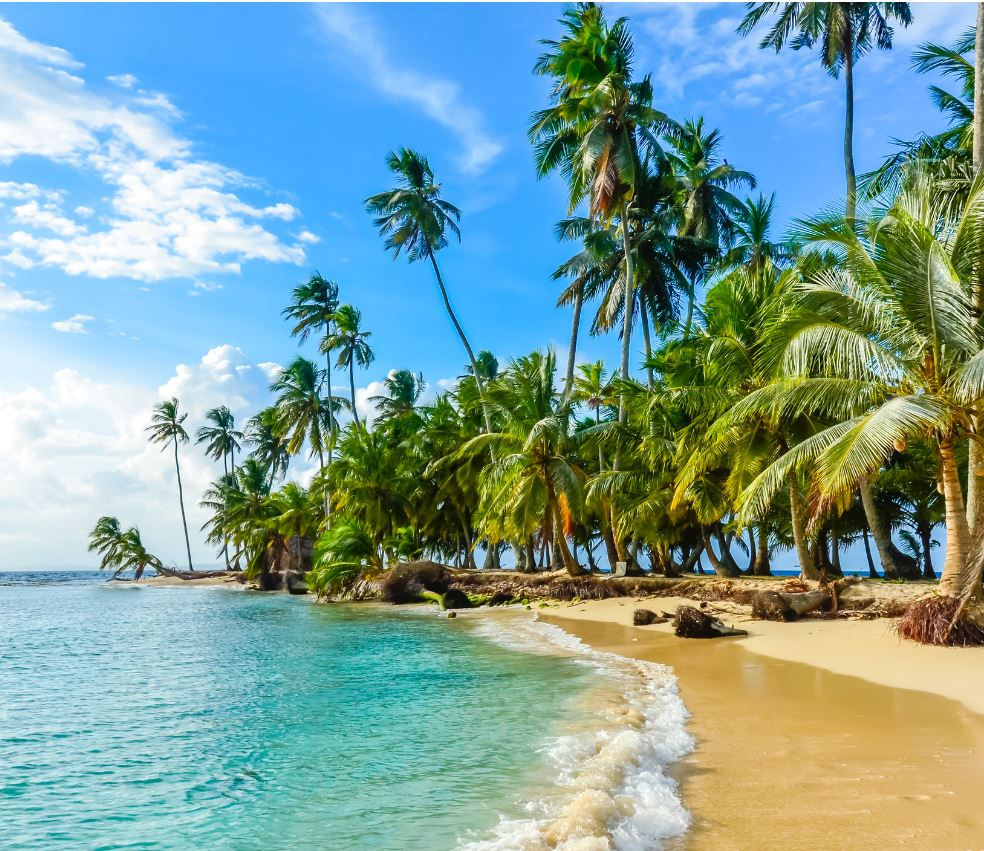 San Blas island, Kuna Yala, Panama