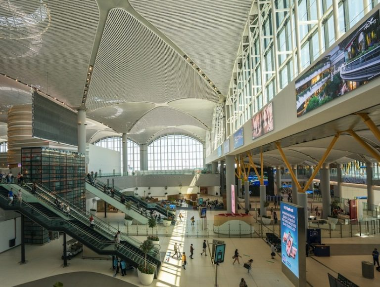 Istanbul airport PCR tests on layover