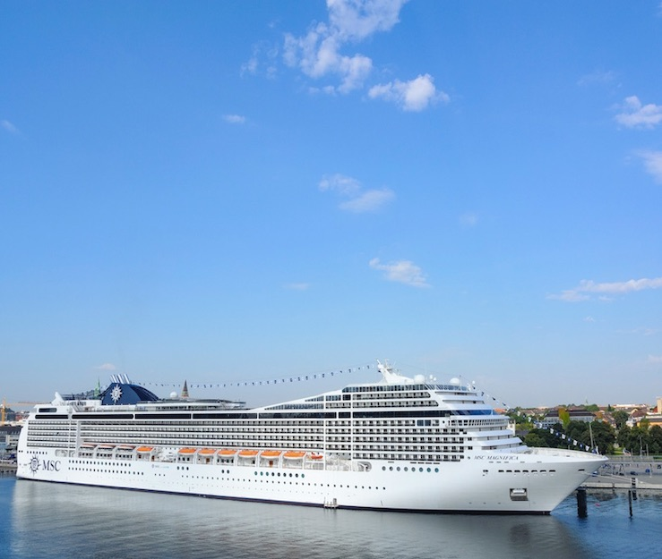 MSC magnifica 2nd ship to resume on October 19
