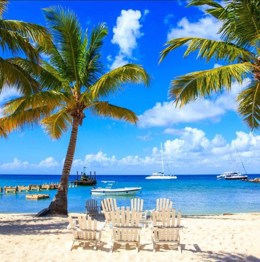 beach chairs dominican republic