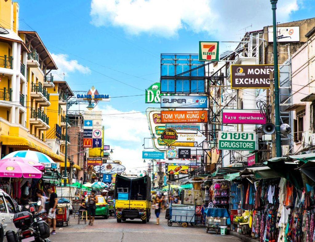 Khao San Road in Bangkok - Thailand