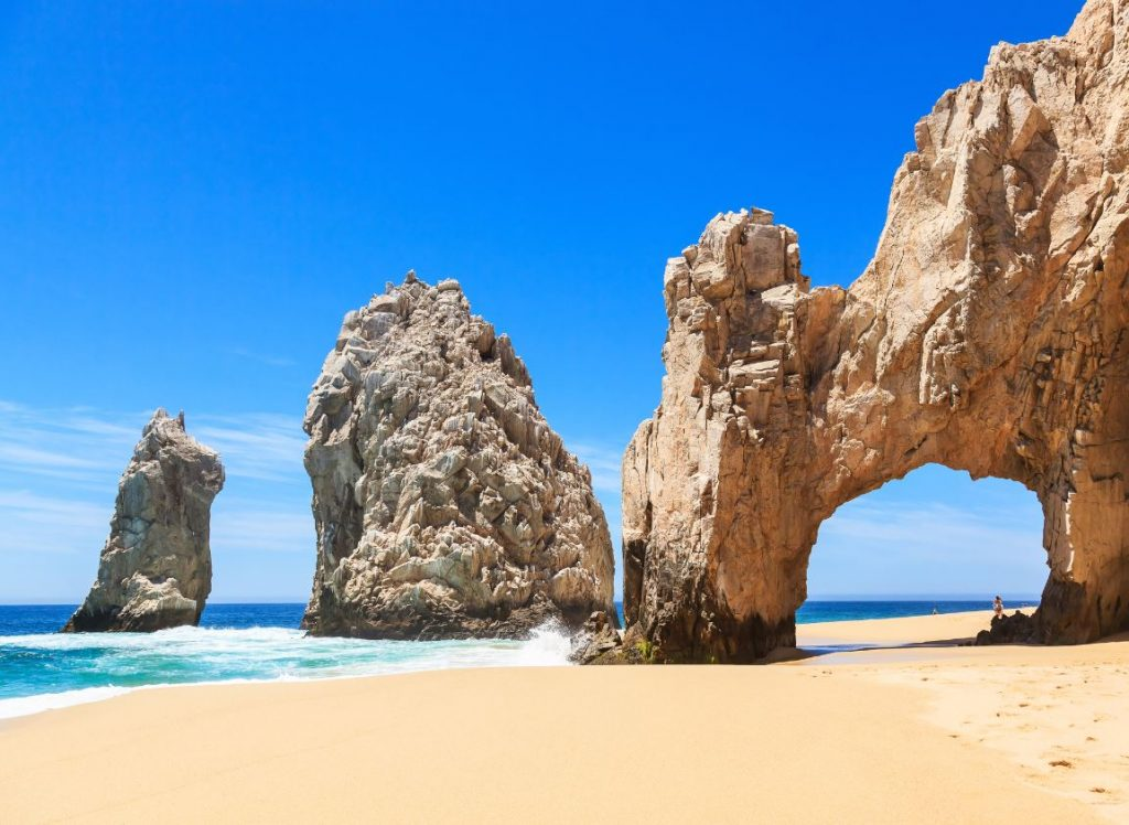 Los cabos famous tourist attraction rock formation
