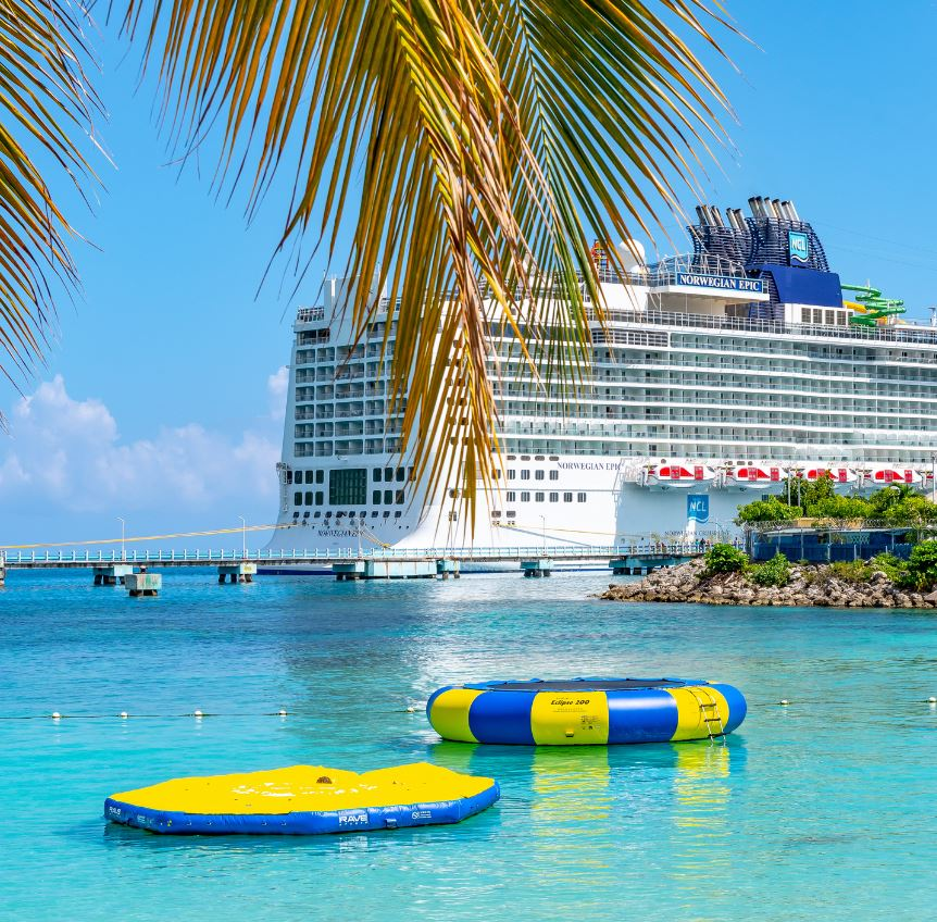 Norwegian Epic Cruise Ship in Bahamas