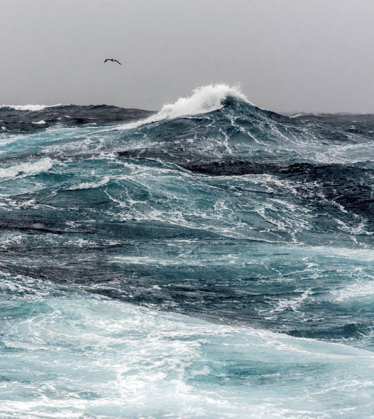 Notorious Drake Passage Has Rough Seas