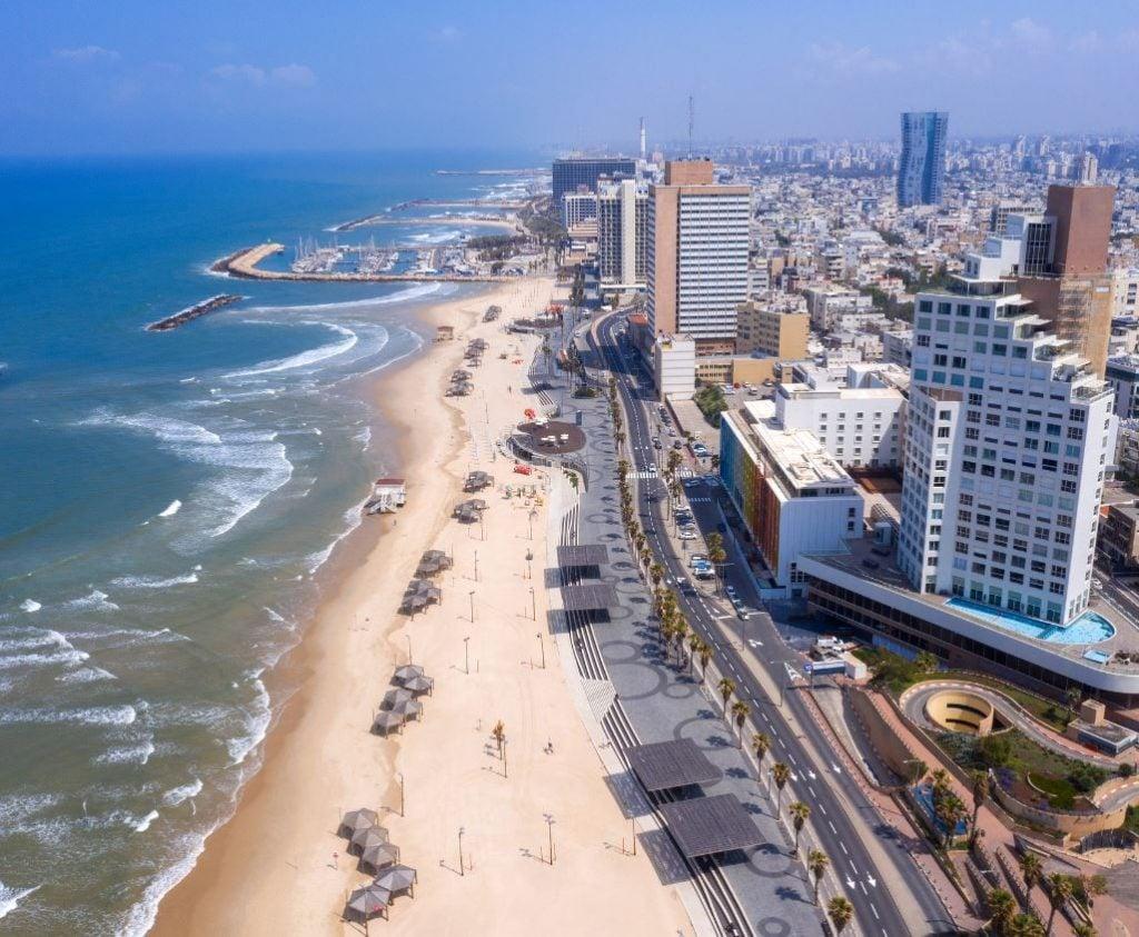 Tel Aviv Israel beach