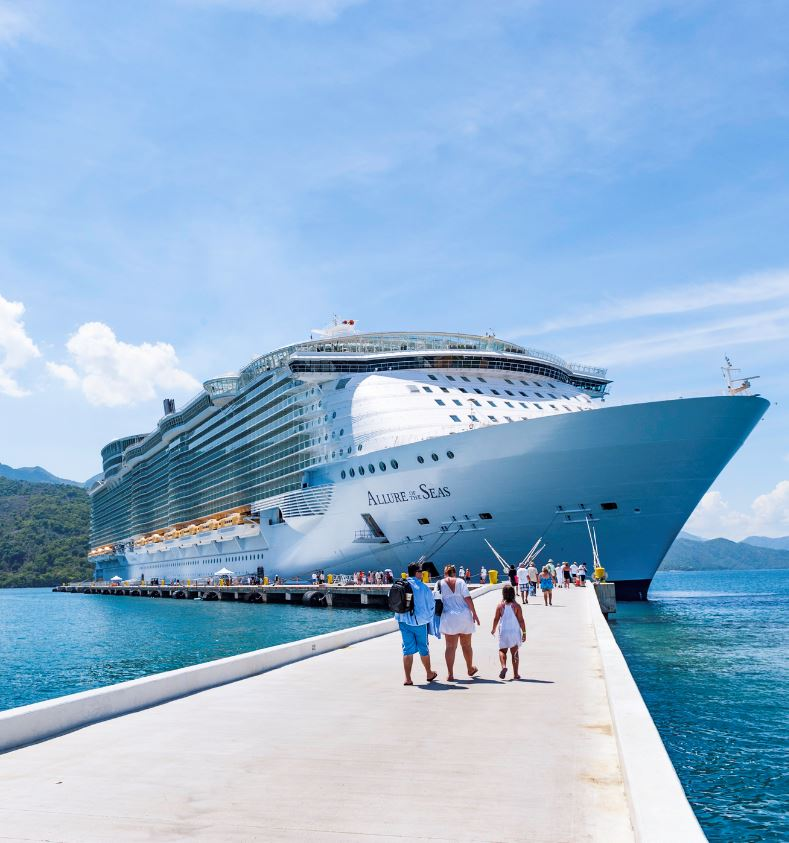 americans board royal caribbean allure of the seas