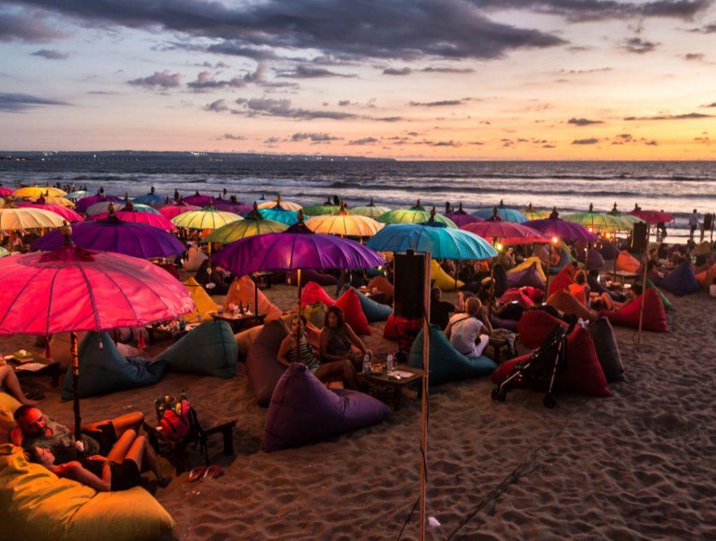 bali beach party