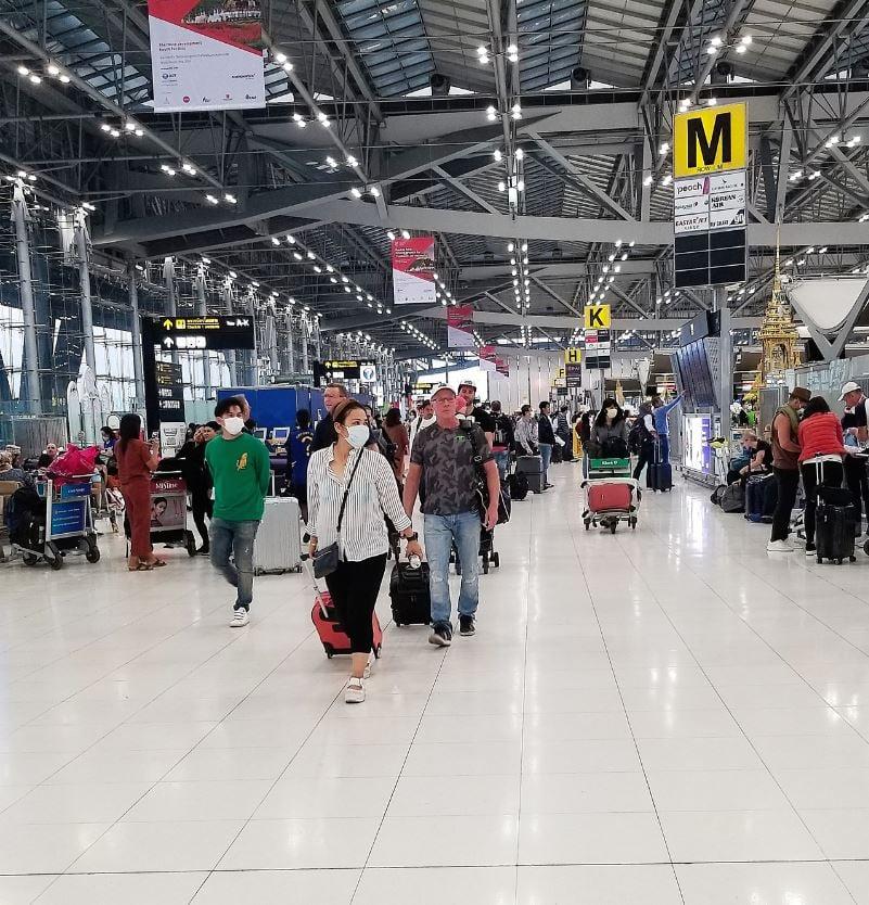 bangkok airport masks