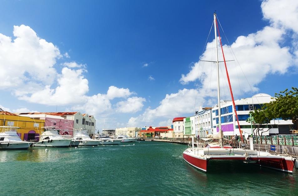 Barbados town
