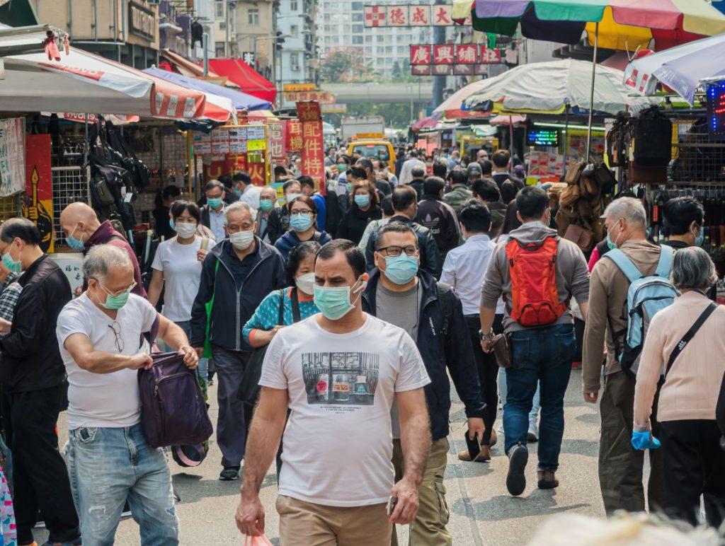 hong kong market during covid