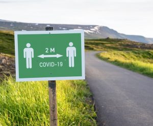 iceland covid sign