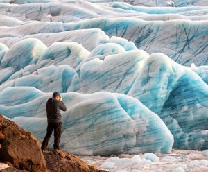 ice chunks in iceland
