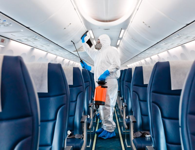 safety measures on airplane