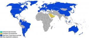 visa policy of dubai UAE