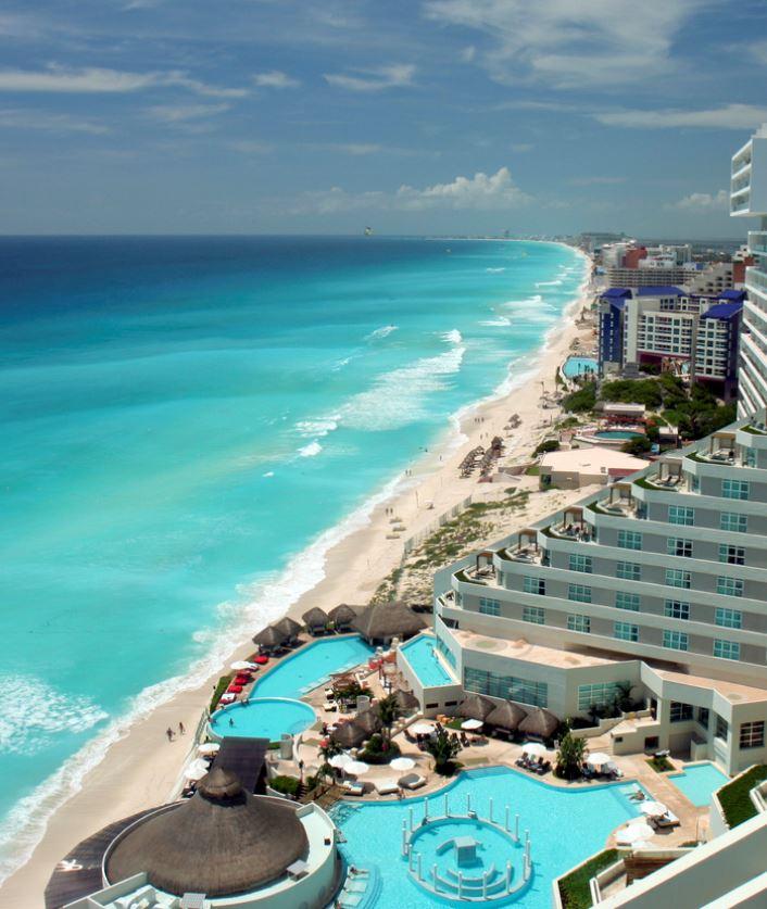 cancun hotel on beach