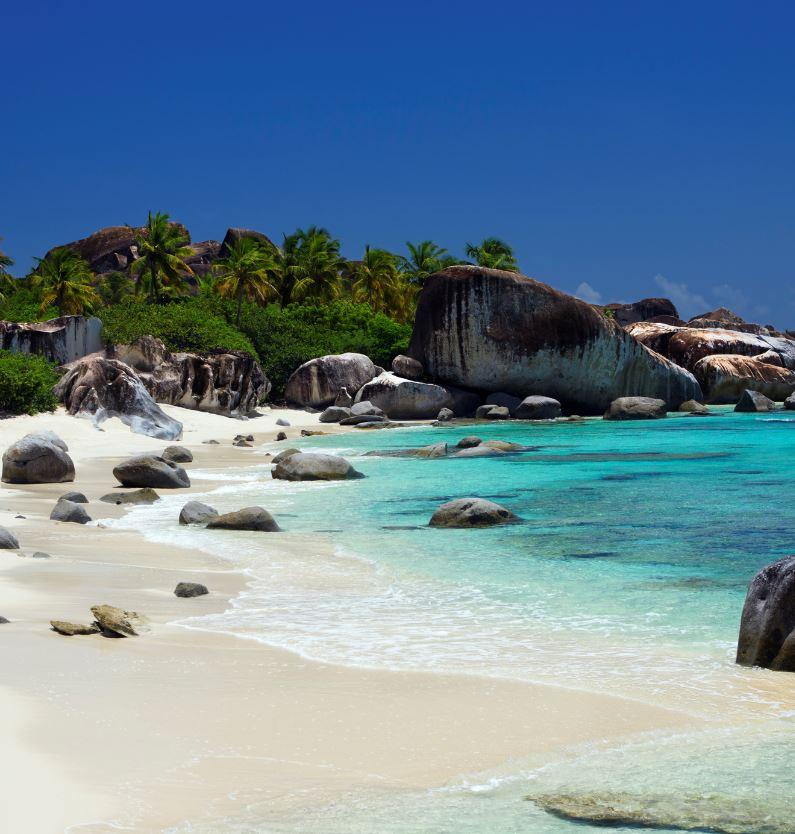 BVI ocean beach
