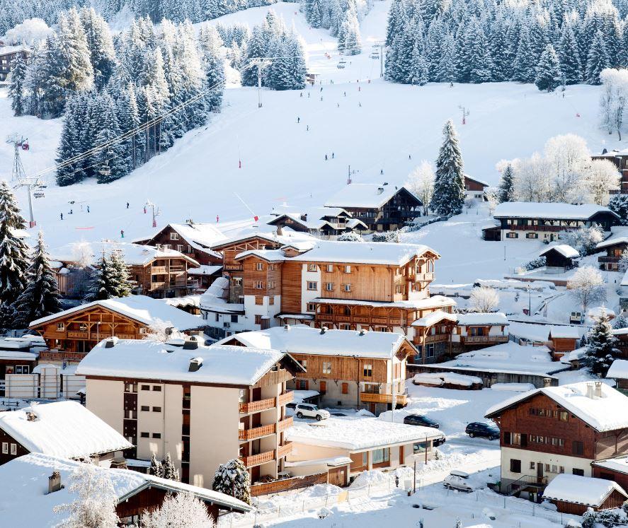 French ski town
