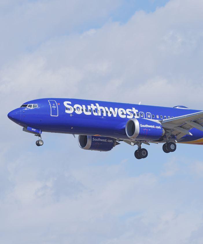Southwest 787 max