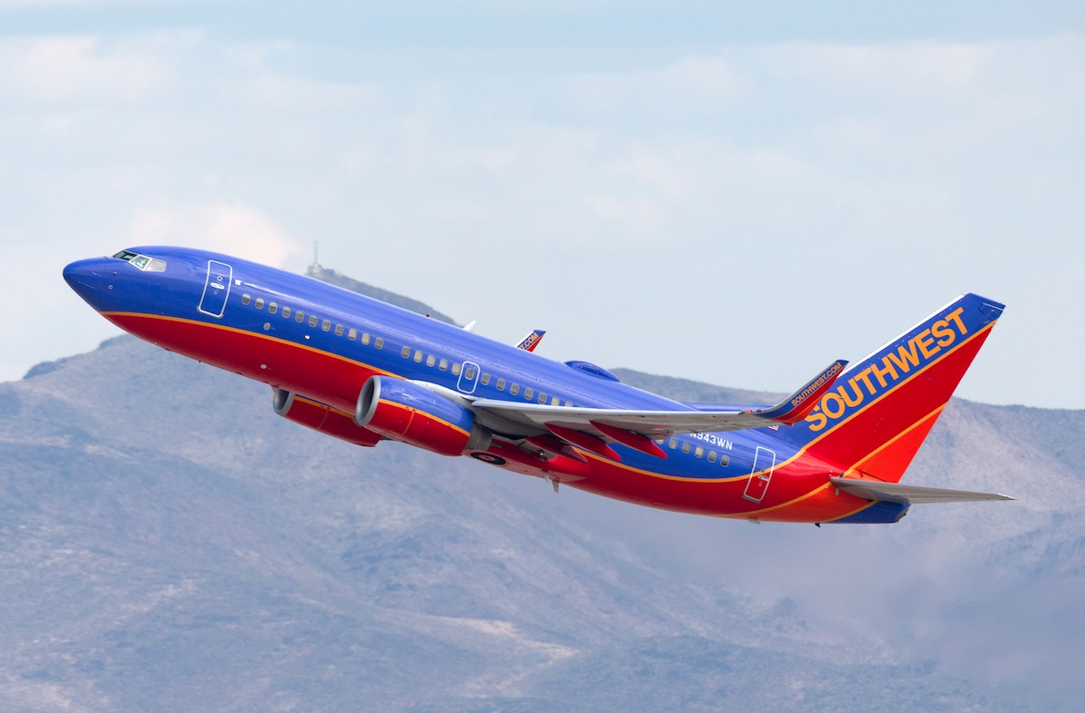 Southwest Airlines Adds 19 New Travel Routes for 2021