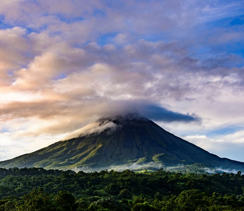 View of Volcan Arenal, Costa Rica