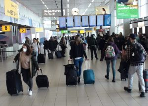 AMS airport transit rules