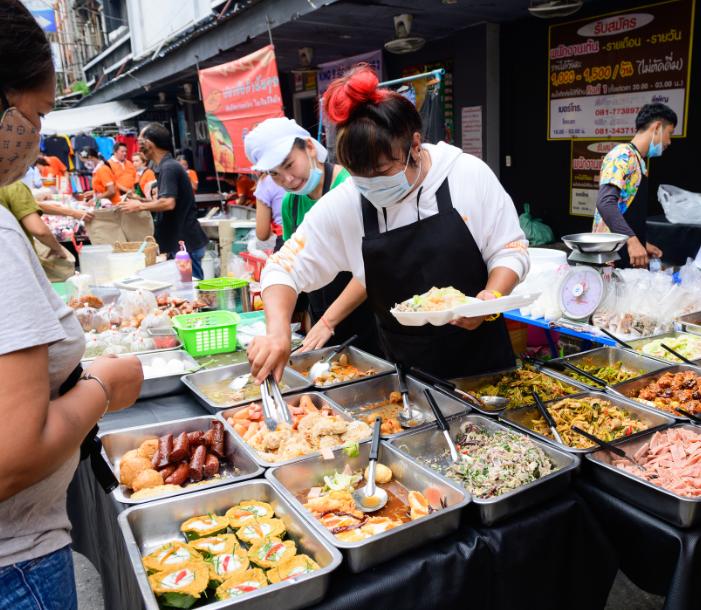 bangkok streetfood masks