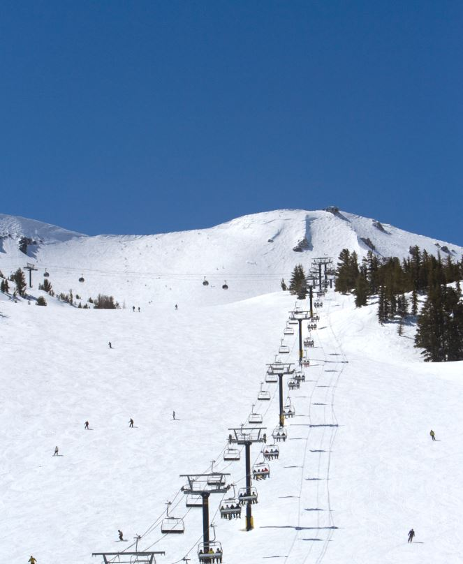 chairlift at mammoth mountain