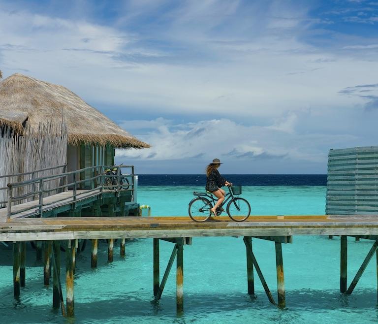 maldives bicycle
