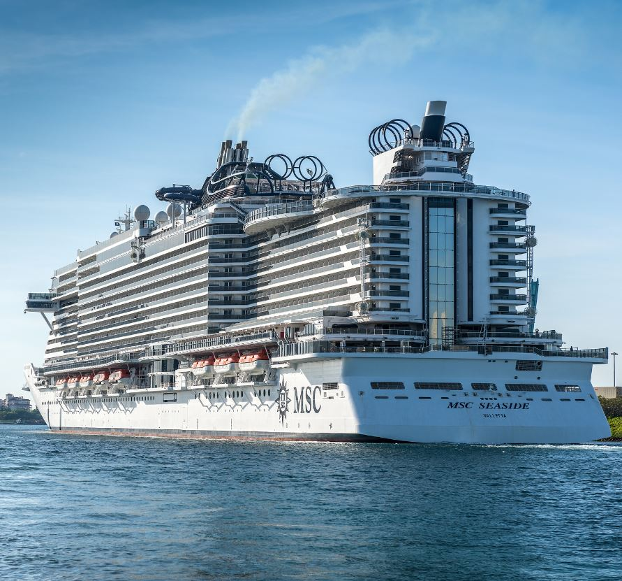 msc crusie ship seaside