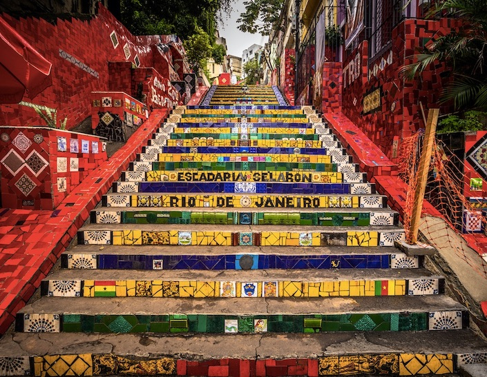 steps in rio brazil
