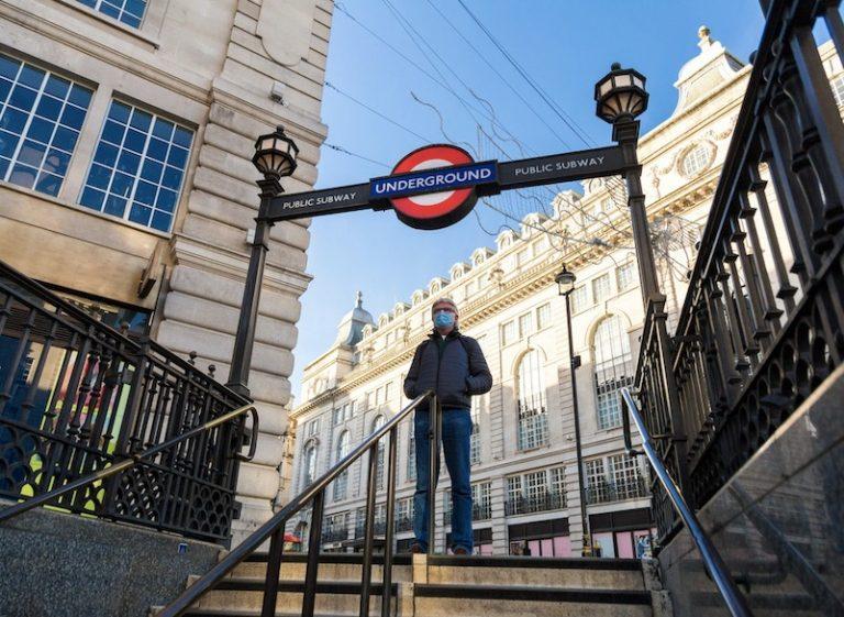 uk england underground tube mask