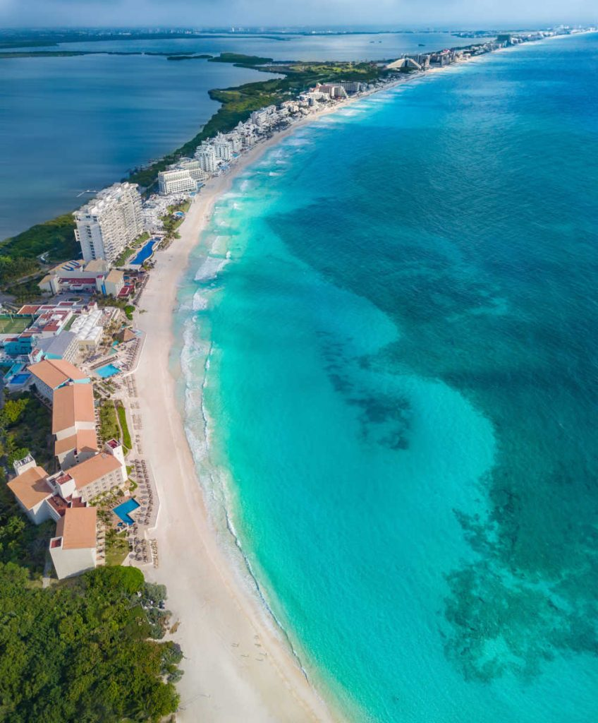 Cancun Mexico Top destination for US travelers 2021